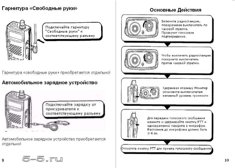 Инструкция По Эксплуатации Kenwood Th-K4at