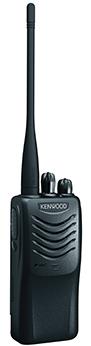 Профессиональная портативная радиостанция Kenwood TK-3000 (400-470 МГц) мощностью 6 Ватт с Li-Ion аккумулятором 1950 мАч