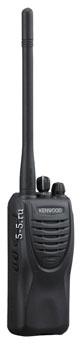 Профессиональная носимая радиостанция Kenwood TK-2306/2307 136-174 Мгц, мощностью 6 Ватт с Li-Ion аккумулятором 2000 мАч