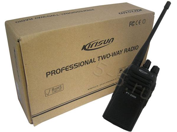 Упаковка рациии Kirisun PT 3300