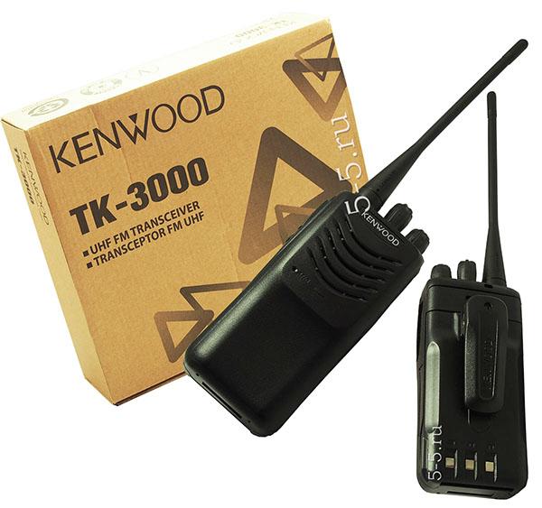 Упаковка рациии Kenwood TK-2000/2000