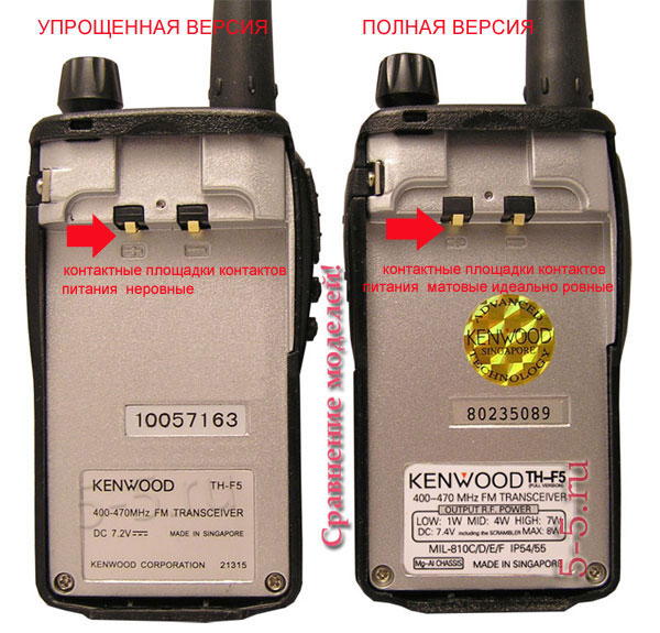 ��� ����� ����� Kenwood TH - F5 � ������������